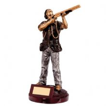 Motion Extreme Male Clay Pigeon Shooting Trophy